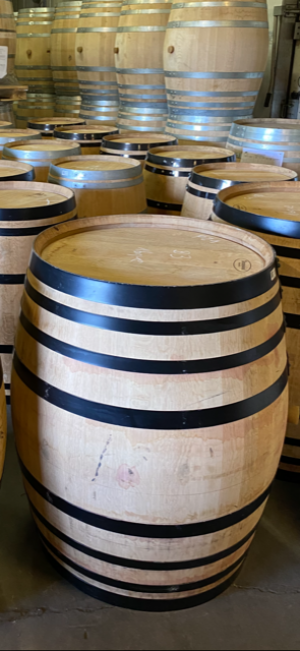 The role of white wine in the finishing of spirits